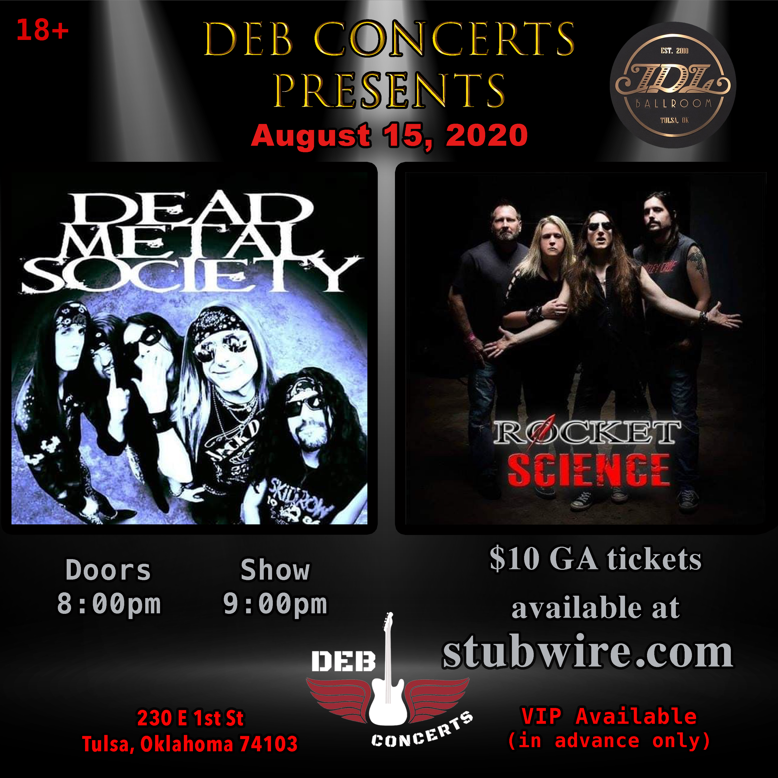 Dead Metal Society with Rocket Science